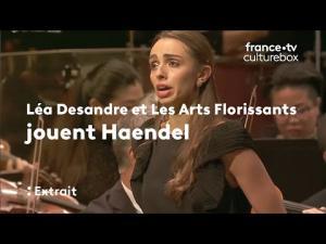 """Embedded thumbnail for Léa Desandre et Les Arts Florissants jouent Haendel, """"Scherza infida"""" extrait de l'opéra Ariodante"""